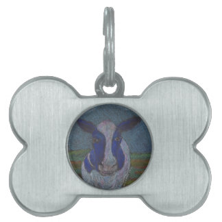 Proud Farmer Dairy Cow Pet Tag