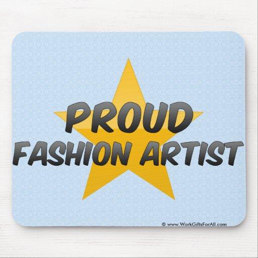 Proud Fashion Artist Mouse Pad