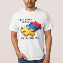 Proud Father Autistic Child T-Shirt