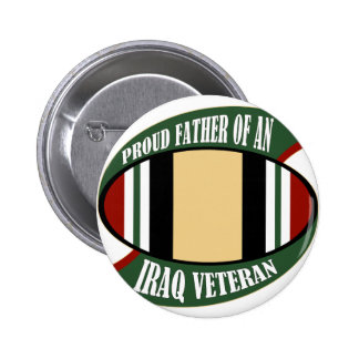 Proud Father Pinback Button