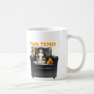 """Proud Father"" Cats Mug"