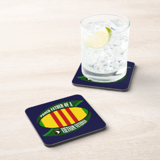 Proud Father Drink Coaster