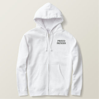 PROUD FATHER EMBROIDED hoody