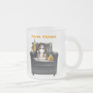 """""""Proud Father"""" Frosted Mug"""