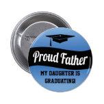 Proud Father - Graduation Button