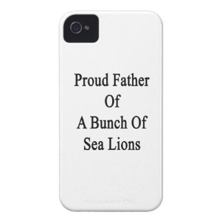 Proud Father Of A Bunch Of Sea Lions Case-Mate iPhone 4 Case