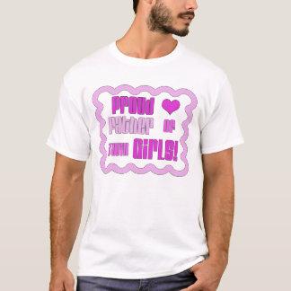 Proud Father of twin girls shirt