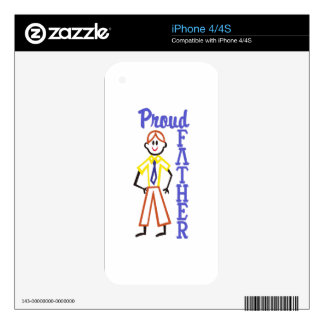 Proud Father Skins For The iPhone 4S