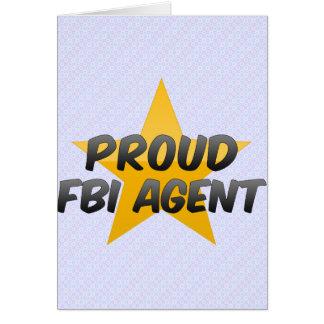 Proud Fbi Agent Greeting Card