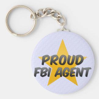 Proud Fbi Agent Key Chain