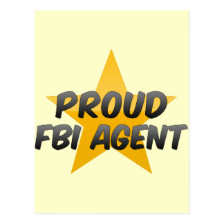 Proud Fbi Agent Postcards