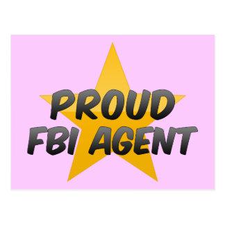 Proud Fbi Agent Post Cards