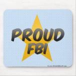 Proud Fbi Mousepads