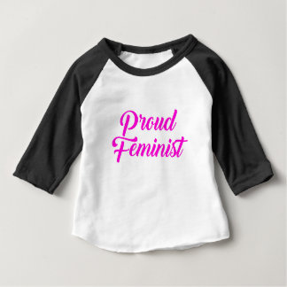 Proud Feminist Baby T-Shirt