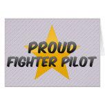Proud Fighter Pilot Card