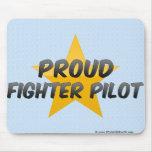 Proud Fighter Pilot Mousepads