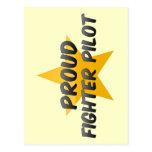 Proud Fighter Pilot Post Card