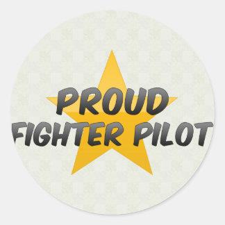 Proud Fighter Pilot Stickers