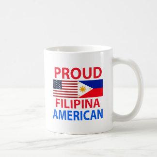 Proud Filipina American Coffee Mugs