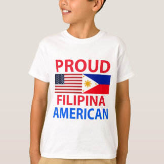 Proud Filipina American T-Shirt