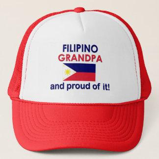 Proud Filipino Grandpa Trucker Hat