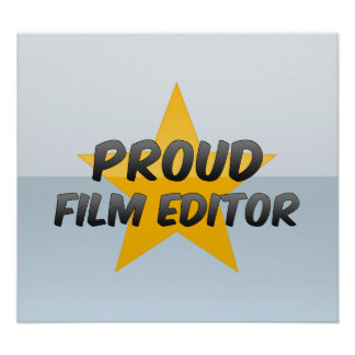 Proud Film Editor Poster