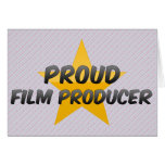 Proud Film Producer Cards