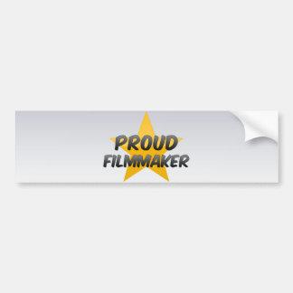 Proud Filmmaker Car Bumper Sticker