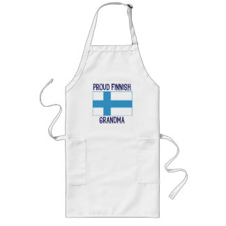Proud Finnish Grandma Long Apron