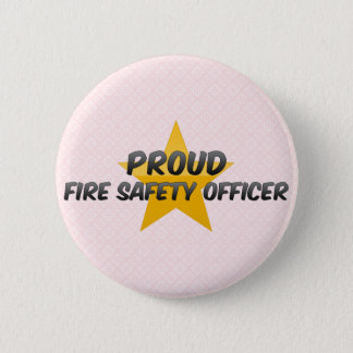 Proud Fire Safety Officer Pinback Button