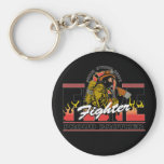 Proud Firefighter Brother Key Chains