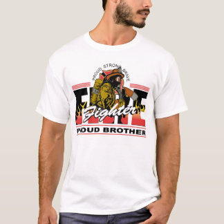 Proud Firefighter Brother T-Shirt