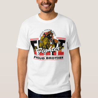 Proud Firefighter Brother Tees