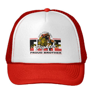 Proud Firefighter Brother Trucker Hat
