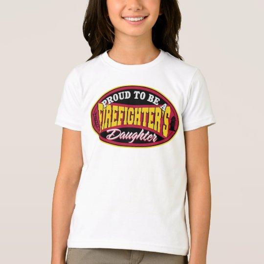 Proud Firefighter Daughter T-Shirt