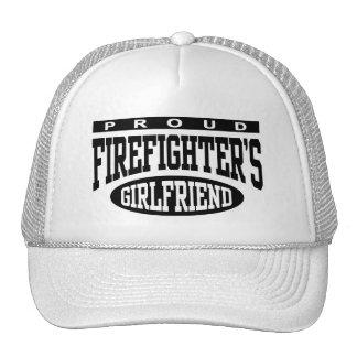 Proud Firefighter's Girlfriend Trucker Hat