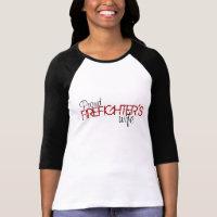 Proud Firefighter's Wife T-Shirt