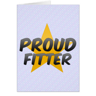 Proud Fitter Card