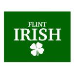 Proud FLINT IRISH! St Patrick's Day Post Cards