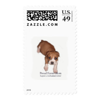 Proud Foster Mom Postage Stamps
