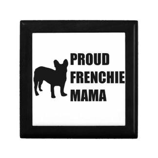 Proud Frenchie Mama Jewelry Box