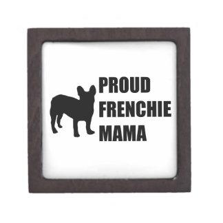 Proud Frenchie Mama Keepsake Box