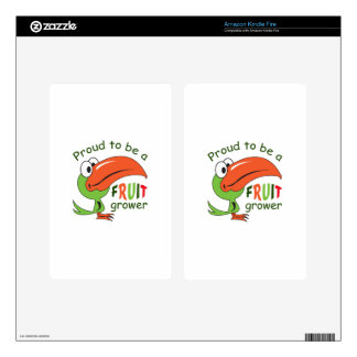 PROUD FRUIT GROWER KINDLE FIRE DECAL