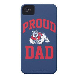 Proud FSU Bulldog Dad iPhone 4 Case
