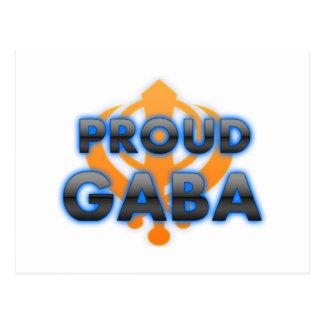 Proud Gaba, Gaba pride Postcard