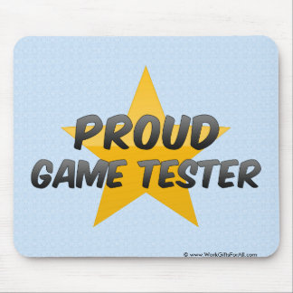 Proud Game Tester Mouse Pads