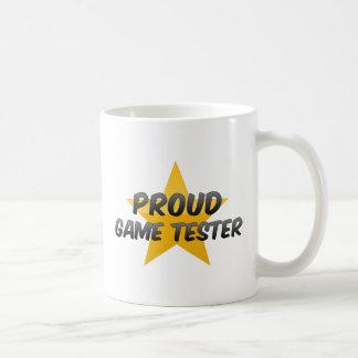 Proud Game Tester Coffee Mugs