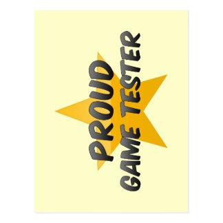 Proud Game Tester Postcard