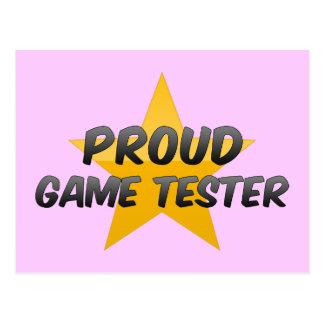 Proud Game Tester Postcards