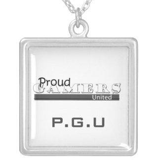 """Proud Gamers United"" Necklace"